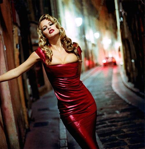 Claudia Schiffer for Vanity Fair
