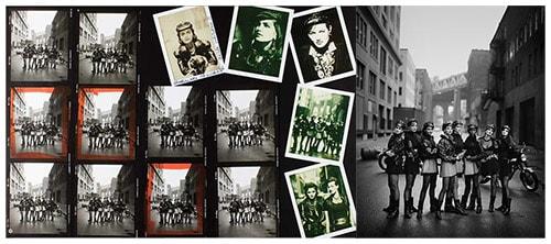 Peter Lindbergh Contact Sheet The Wild Ones Vogue