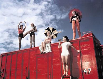 Stanley Kubrick Circus Photos