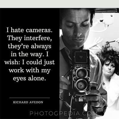 I Hate Cameras Avedon