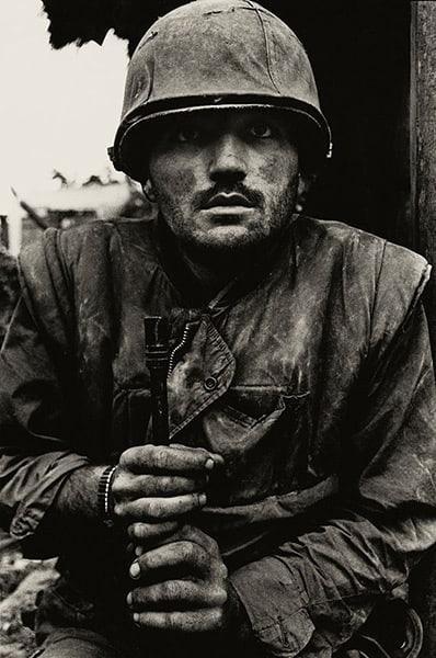 Shell Shocked Soldier, Don McCullin, Vietnam