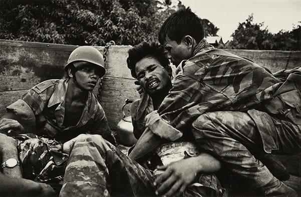 Cambodian Paratrooper, McCullin, 1970