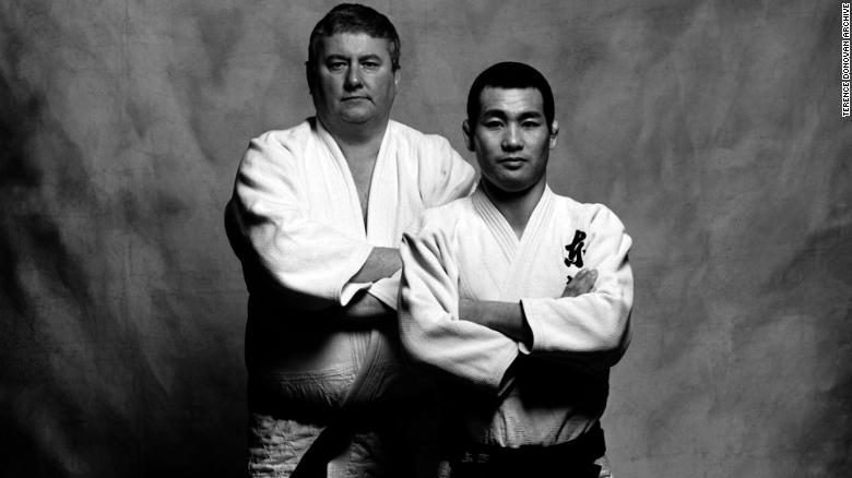 Terence Donovan and Kashiwazaki, Judo