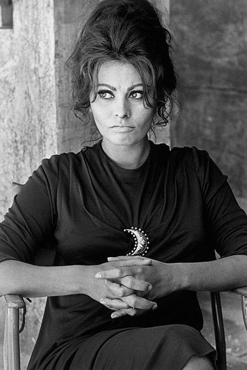 Sophia Loren, Terence Donovan, 1963