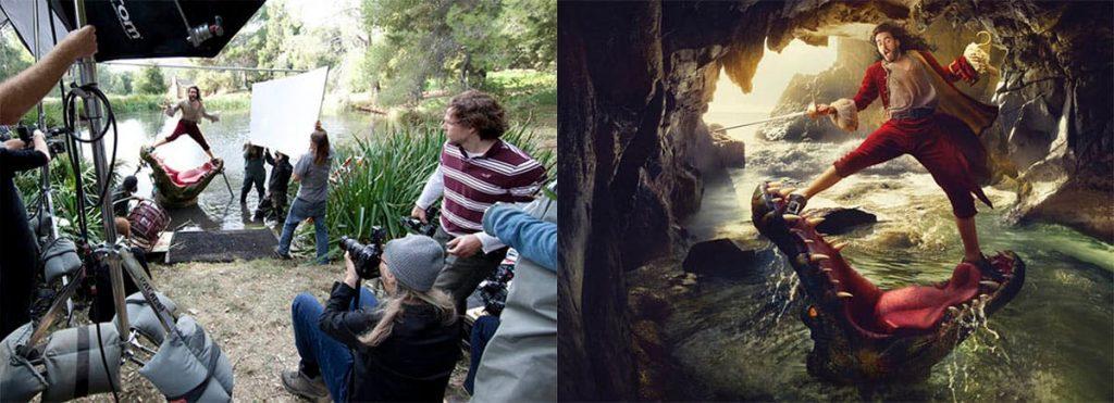 Annie Leibovitz , Disney, Behind the Scenes