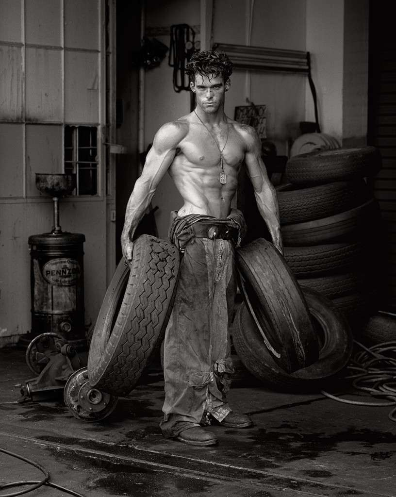 Fred with Tires, Herb Ritts