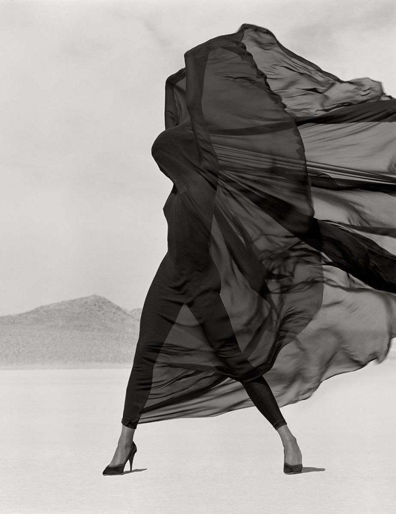 Herb Ritts Versace Veiled Dress