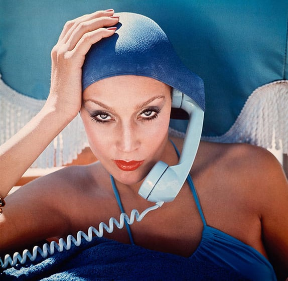 Jerry Hall for British Vogue Cover