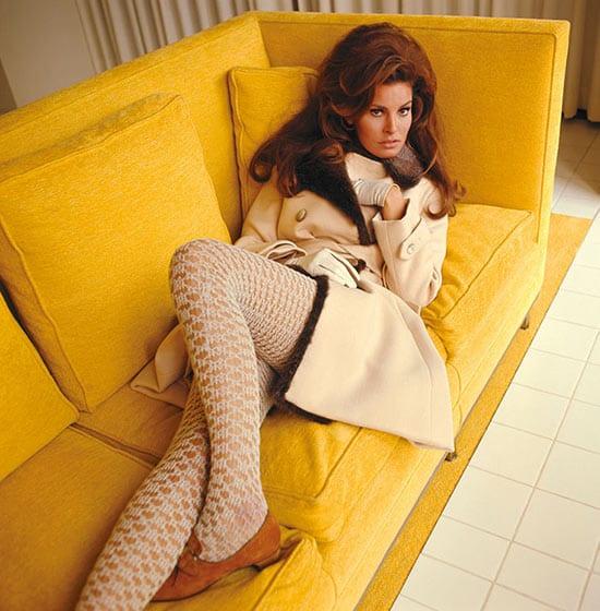 Raquel Welch by Norman Parkinson