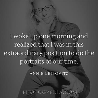 Annie Leibovitz Quotes 2