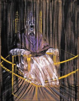 Study after Velazquez' Portrait by Francis Bacon