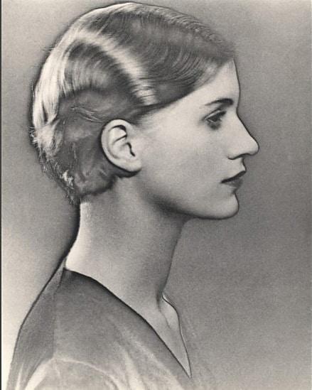 Solarised Portrait of Lee Miller, c.1929
