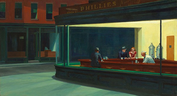 Nighthawks by Edward Hopper, Art Quotes