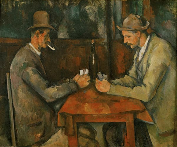The Card Player by Paul Cézanne, Quotes
