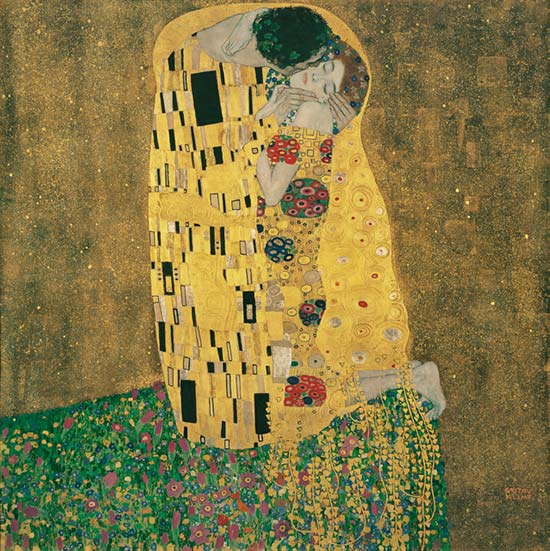 The Kiss by Gustav Klimt, Famous Painter Quotes