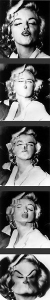 Marilyn Monroe, Distortions