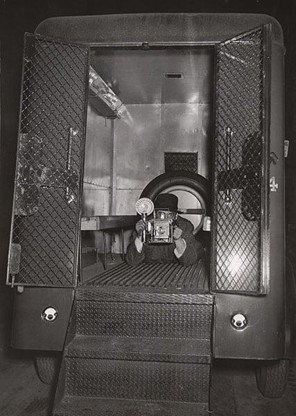 Weegee, Police Van