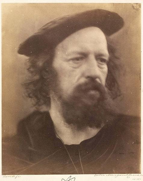 Alfred Tennyson, Julia Margaret Cameron