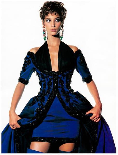 Christy Turlington in Chanel