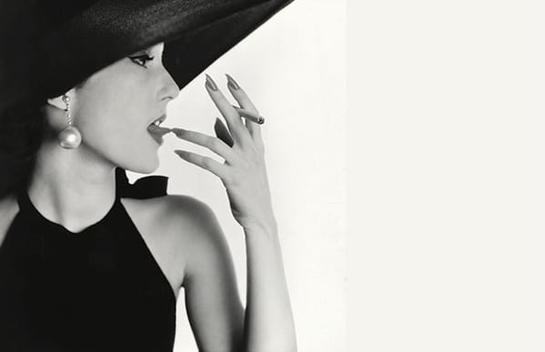 Girl with Tobacco on Tongue