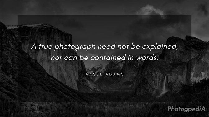 Ansel Adams Quotes 2