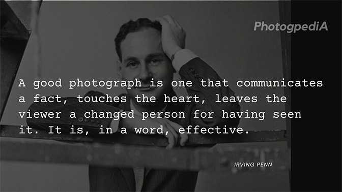 Irving Penn Quotes 2
