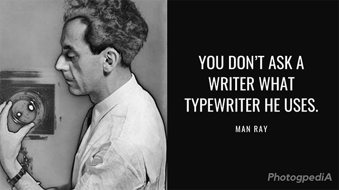 man ray quotes 1