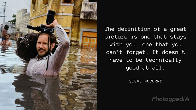 Steve McCurry Quotes 1