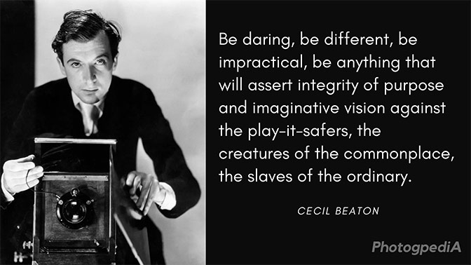 Cecil Beaton Quotes 1