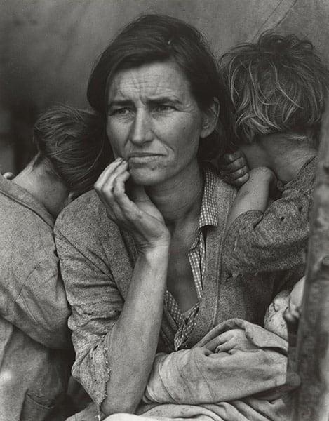 Migrant Mother, Lange