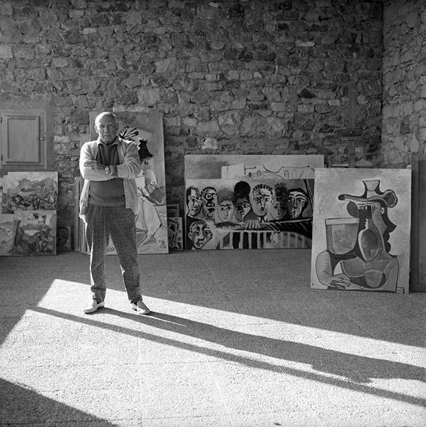 Picasso Portrait, Beaton