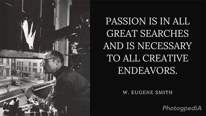 W Eugene Smith Quotes 2
