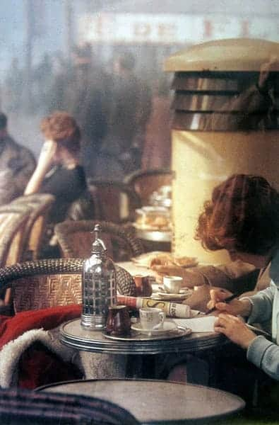 Saul Leiter Cafe